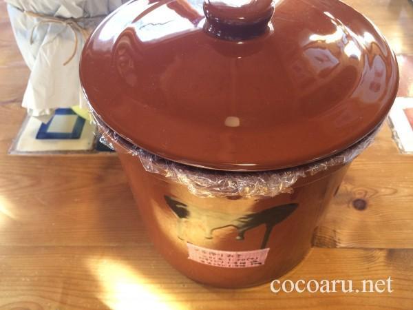 味噌作り・味噌の保管