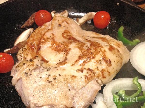 鶏のモモ肉ステーキ