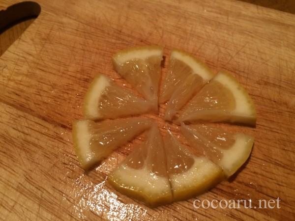レモン酢の切り干し大根マリネ06