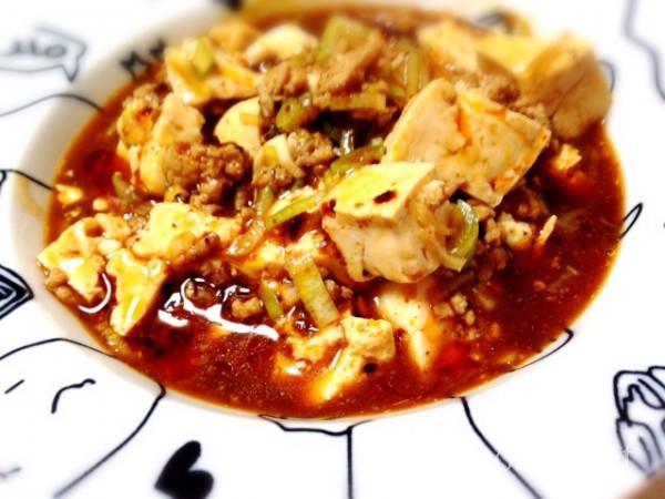 浜納豆レシピ麻婆豆腐