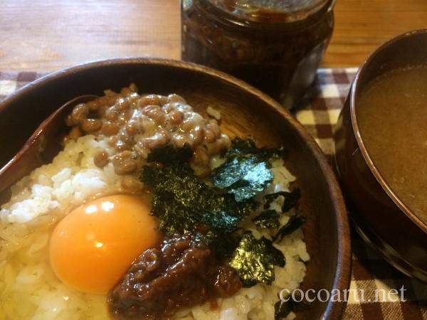醤油麹で卵かけご飯