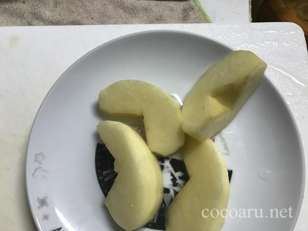 りんご ぬか漬け03