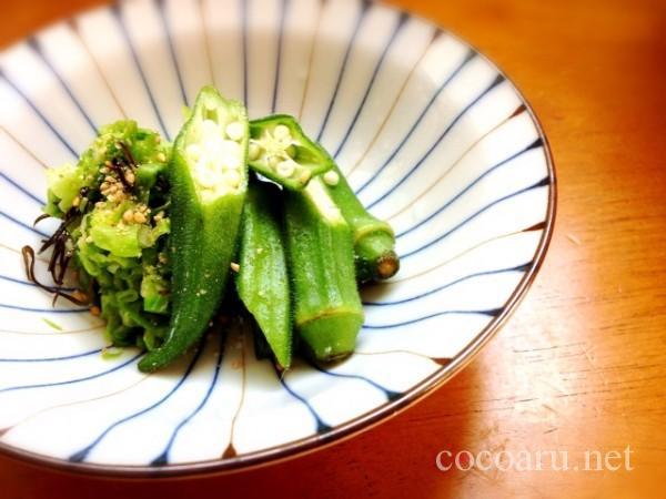 野菜の塩ヨーグルト漬け