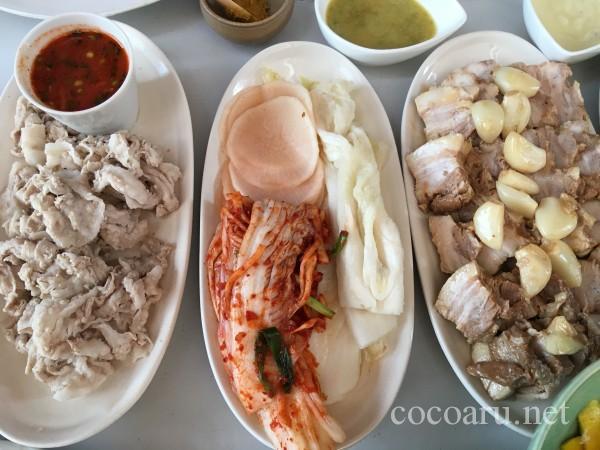 キムチの作り方:ランチで食べたキムチと水キムチ