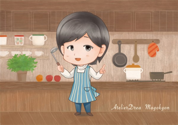 まごきょんinキッチン