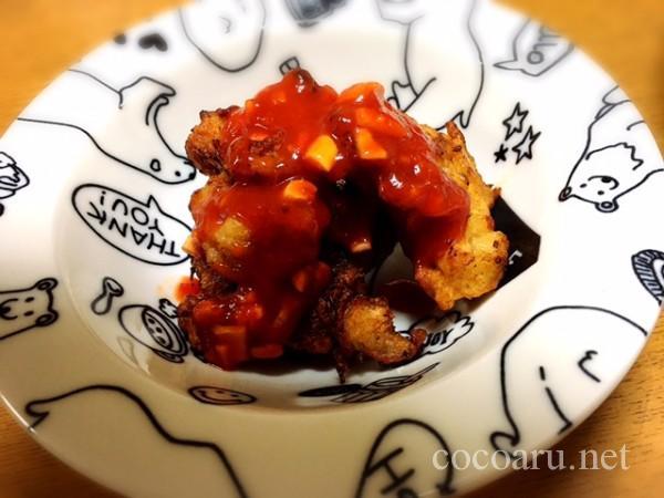 醤油麹唐揚げチリソース