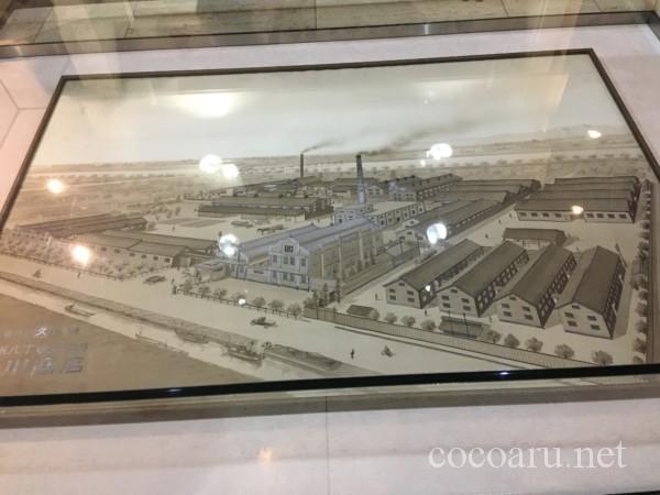 カクキュー八丁味噌 工場見学(八丁味噌の郷・史料館 カクキューの完成図)