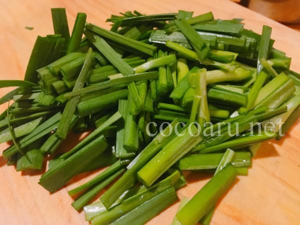 酢キャベツ入り納豆チヂミ 作り方01
