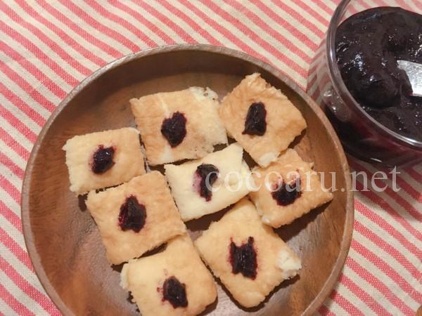 ブルーベリー酵素ジュースの作り方:パンケーキに酵素ジャム
