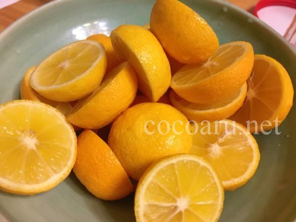 ポン酢を手作り!柚子