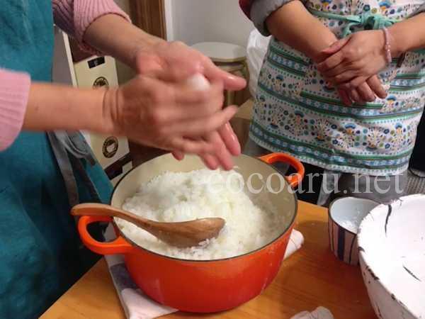 ポン酢を手作り!発酵ランチ(炊きたての新米でおむすび)