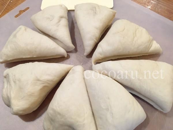 酒粕パン:ホームベーカリーでパン生地(あんドーナツ&カレーパン)