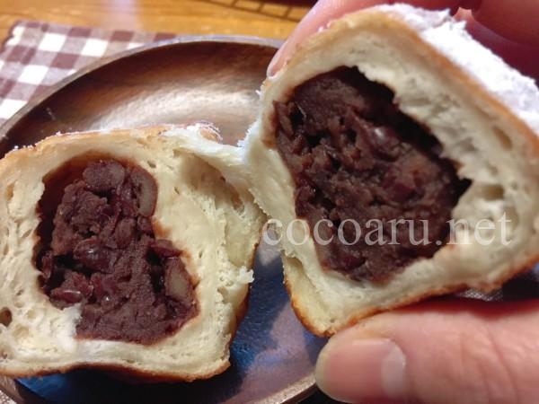 酒粕パン:ホームベーカリーでパン生地(あんドーナツ)