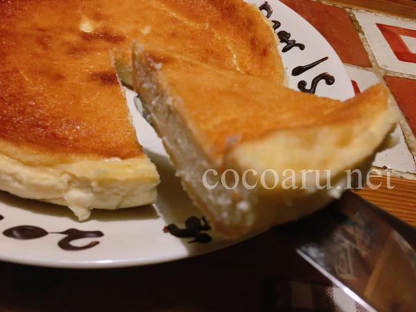 【ケフィア豆乳ヨーグルト】を入れてベイクドチーズケーキを焼いてみた!
