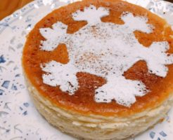 塩麹ベイクドチーズケーキ(クリスマスバージョン)